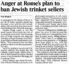 Article in Daily Express re Rome trinket sellers.JPG