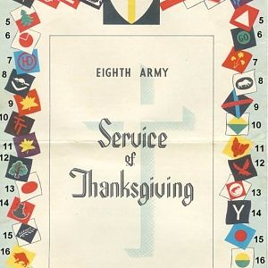 8th Army Service Of Thanksgiving