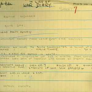 June 1940 War Diary, 1 Guards Brigade Anti-Tank Company