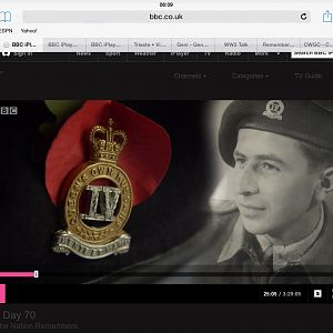 BBC Interview 70th Anniversary of VE Day