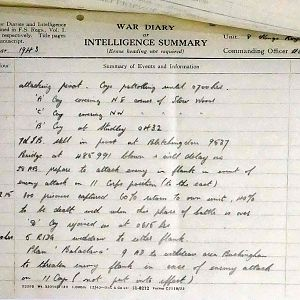 8th Bn The Kings Royal Rifle Corps (Queen Victoria's Rifles).  War Diaries Jan-Apr 1943.