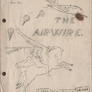 Airwire Vol 1 No.3 November 1945 Palestine