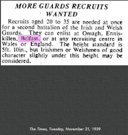 2nd Battalions, Irish Guards & Welsh Guards