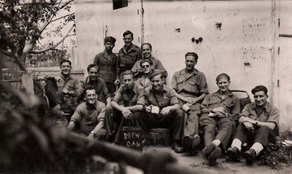 Athens 1945  2/4 Bn The Hampshire Regt
