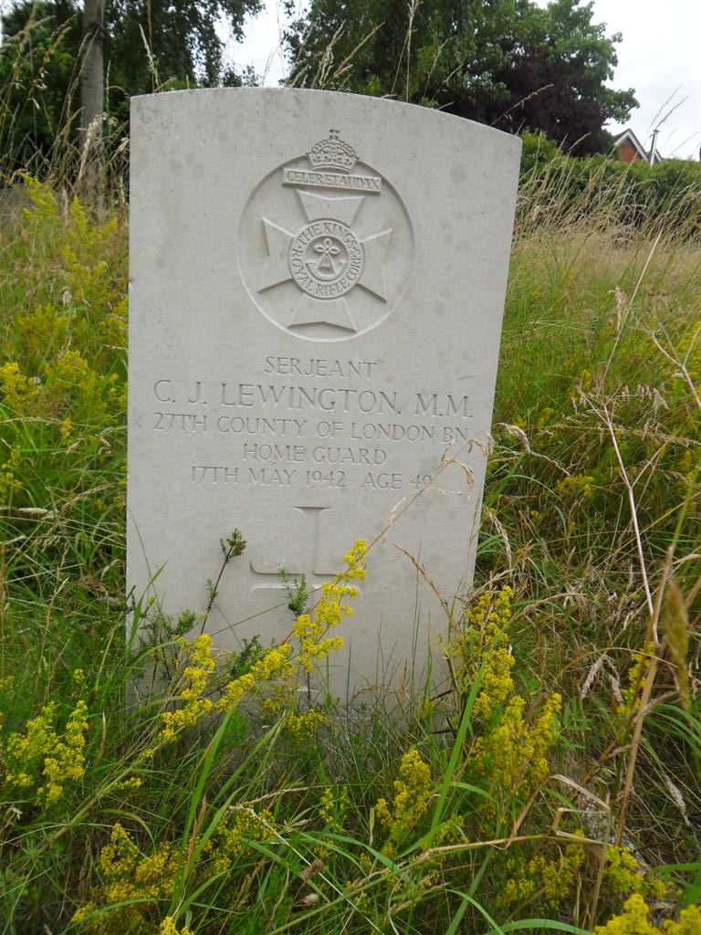 C.J.Lewington  Home Guard (3)