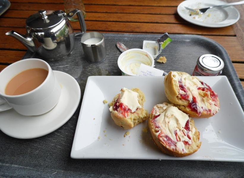 Cream Tea to end the visit