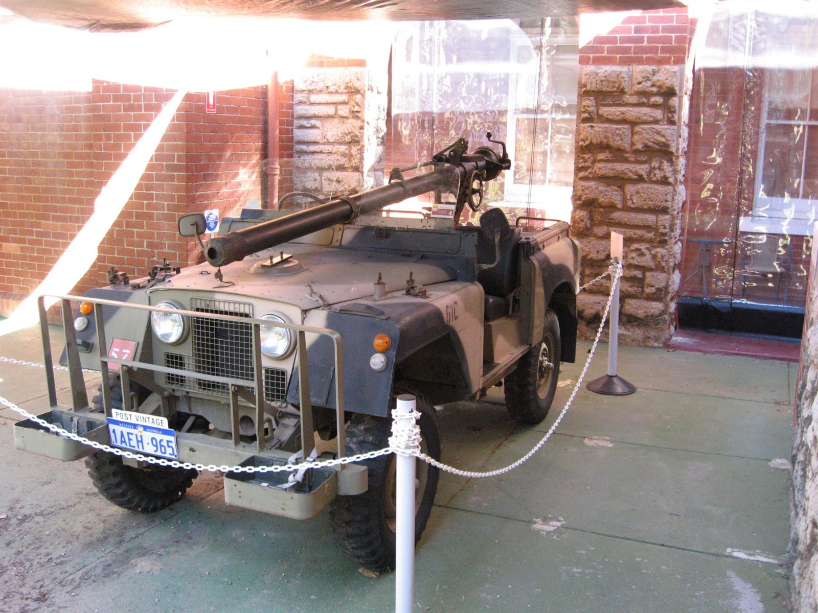 Landrover Recoilless Rifle Carrier [6]