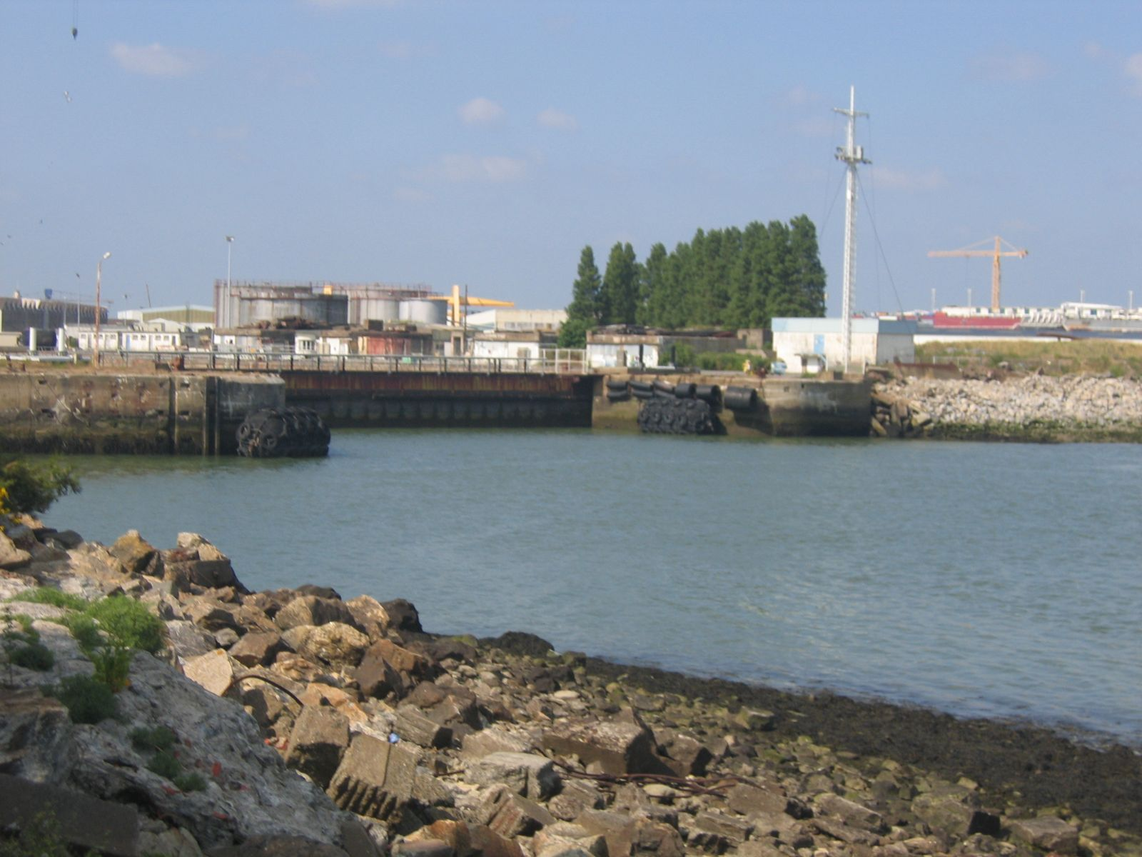 St Nazaire -  southern caisson
