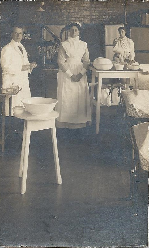 Surgical Sister K.L. Stritch   Field Hospital, France (probably Front Line)